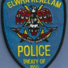 Elwha Klallam Washington Tribal Police Patch