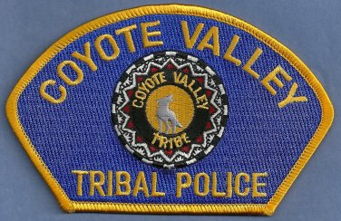 Coyote Valley California Tribal Police Patch