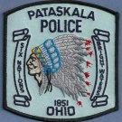 Pataskala Ohio Police Patch Indian