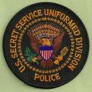 UNITED STATES SECRET SERVICE UNIFORM DIVISION PATCH BLACK