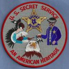 UNITED STATES SECRET SERVICE AMERICAN HERITAGE PATCH