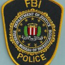 FBI Federal Bureau of Investigation Police Patch