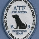 ATF Explosives K-9 Unit Police Patch