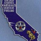 United States Marshal Fresno California Police Patch