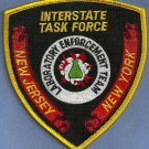 DEA New Jersey-New York Clan Lab Task Force Police Patch