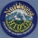 DEA Northwest HIDTA Task Force Police Patch