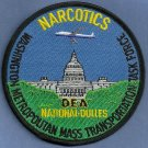DEA Washington National-Dulles Airport Narcotics Task Force Police Patch