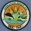 DEA Operation Green Air Police Patch