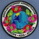 DEA Europe-Asia-Africa Police Patch