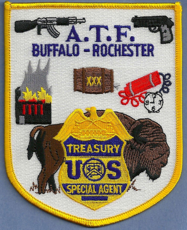 Atf Buffalo Rochester Field Office Police Patch