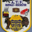 ATF Buffalo-Rochester Field Office Police Patch