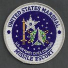United States Marshal Missile Escort Police Patch