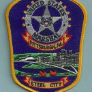 United States Marshal Pittsburgh Police Patch