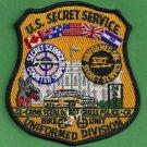 UNITED STATES SECRET SERVICE UNIFORM DIVISION PATCH CAPITOL