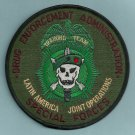 DEA Latin America Joint Operations Police Patch