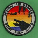 Federal Air Marshal Miami Field Office Police Patch