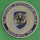 United States Marshal Sex Offender Investigation Branch Police Patch