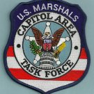 United States Marshal Capitol Area Task Force Police Patch