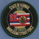 DEA Hawaii Marijuana Task Force Police Patch
