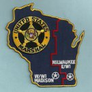 United States Marshal Wisconsin Area Police Patch