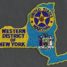 United States Marshal New York Western District Police Patch