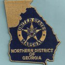 United States Marshal Georgia Northern District Police Patch