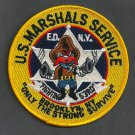 United States Marshal East District Brooklyn New York Police Patch