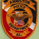 Anniston Alabama Police Patch