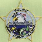 Sand Point Alaska Police Patch