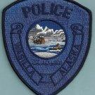 Wasilla Alaska Police Patch