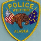 Whittier Alaska Police Patch