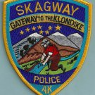 Skagway Alaska Police Patch