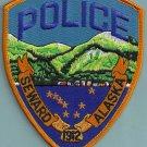 Seward Alaska Police Patch