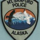 Mount Sanford Alaska Police Patch