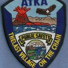 Atka Alaska Police Patch