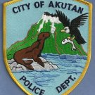 Akutan Alaska Police Patch