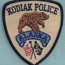 Kodiak Alaska Police Patch