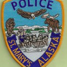 St. Marys Alaska Police Patch