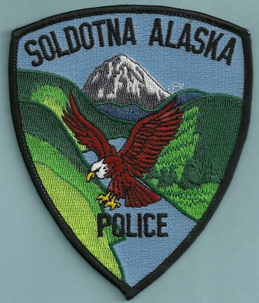 Soldotna Alaska Police Patch