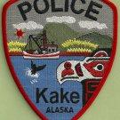 Kake Alaska Police Patch