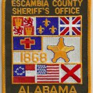 Escambia County Sheriff Alabama Police Patch