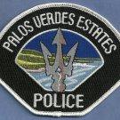Palos Verdes Estates California Police Patch