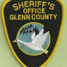 Glenn County Sheriff California Police Patch