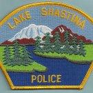 Lake Shastina California Police Patch