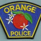 Orange California Police Patch