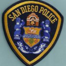 San Diego California Police Patch