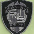 Honolulu Hawaii Police Tactical Patch