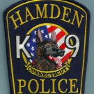 Hamden Connecticut Police K-9 Unit Patch