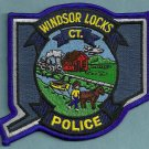 Windsor Locks Connecticut Police Patch