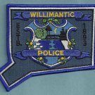 Willimantic Connecticut Police Patch